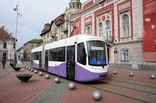 Rumänien / Straßenbahn (Tram) Timişoara: GT4 Armonia - Wagen 3539 (ehemals Wegmann GT4f aus Bremen) der Regia Autonomă de Transport Timişoara (R.A.T.T.), aufgenommen im