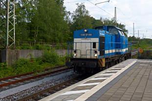 Spitzke Logistik GmbH, Großbeeren  V 100-SP-009  NVR-Nummer: 92 80 1203 129-2 D-SLG, Gladbeck-West 15.07.2014