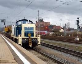 Aus dem Archiv: 294 096-3 Bahnhof Bamberg 21.02.2014