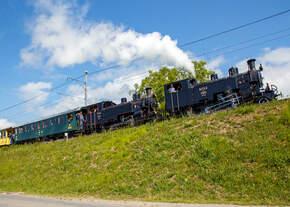 50 Jahre BC - MEGA STEAM FESTIVAL der Museumsbahn Blonay–Chamby:  Die beiden HG 3/4 Schwestern, die B.F.D.