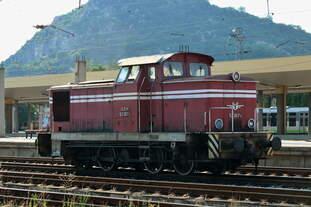 BR 52 (V60) in Plovdiv Bahnhof (7.8.2018)