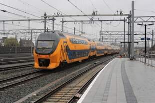 Am 16.03.2019 ist ein Virm der NS als IC in Richtung Amsterdam unterwegs.