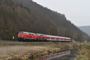 Die Ulmer 218 499 trat am 4.