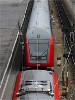 Doppelbelegung -    Ulm Hauptbahnhof.