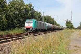 Und auch die SNCB kam am 18.7.2014 noch einmal durch Menden.