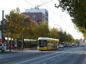 25 Jahre nach dem Mauerfall ist die Bernauer Straße nicht mehr wiederzuerkennen.