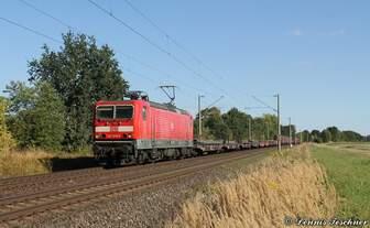 143 850-6 DB mit Mischer bei Woltorf am 30.08.2016
