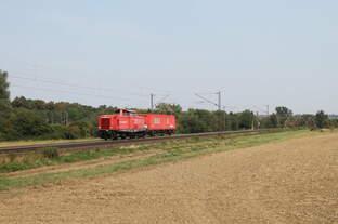 212 277-8 DB (Notfalltechnik) bei Elze am 01.09.2016