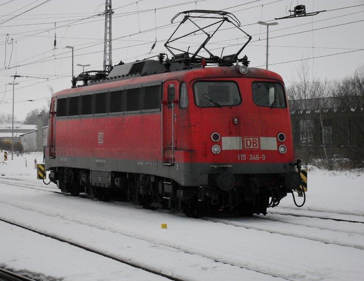 115 346 9 Db Autozug Berlin Wird Gleich Den Ic1809 Von