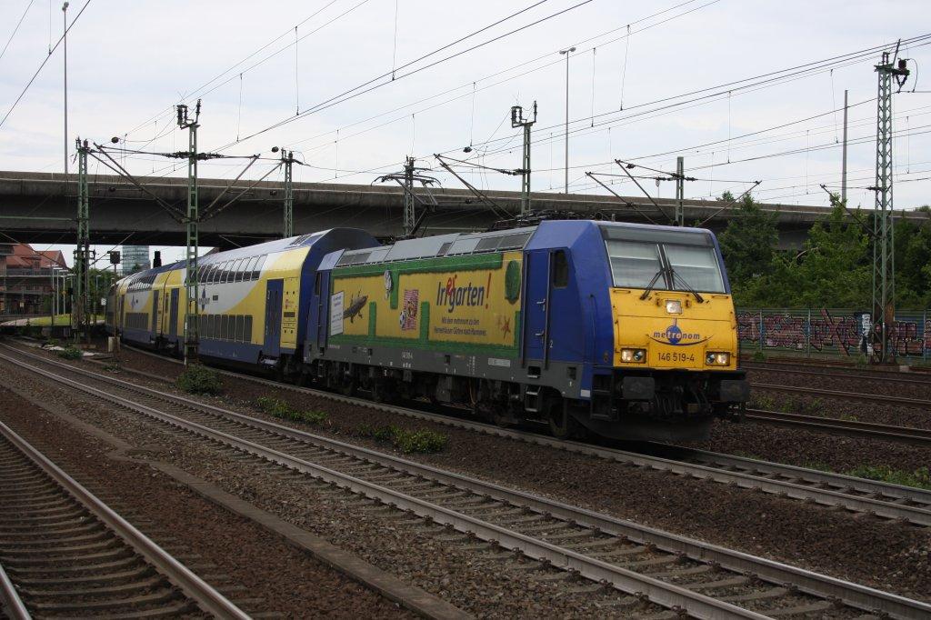 146 519 4 irrgarten werbelok vom metronom bei der - Irrgarten deutschland ...