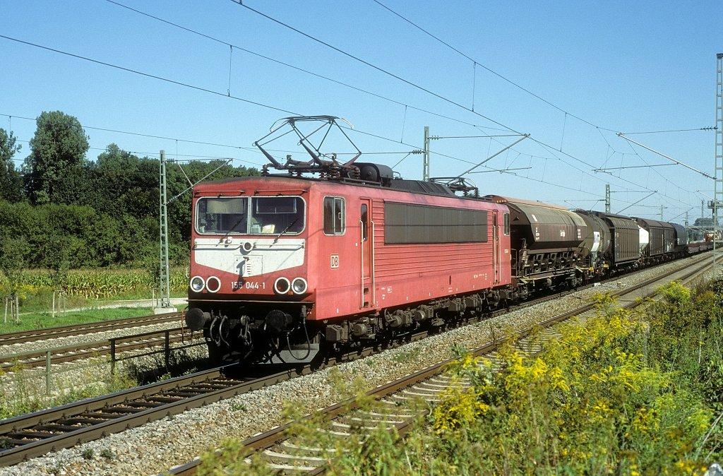 Ein Schwergewicht für schwere Lasten ist sie immer noch die Baureihe 155 155
