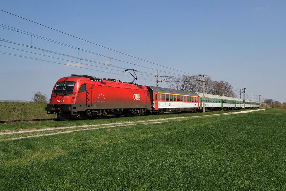 17 allt glicher fernverkehr auf der nordbahn heute bespannte die 1216 238 welche schon - Welches mobelhaus hat heute geoffnet ...
