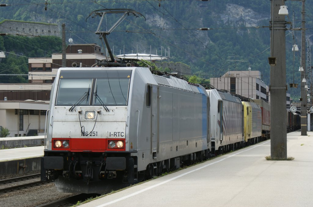 186 251 in Kufstein (Lokomotion) am 06.06.2012