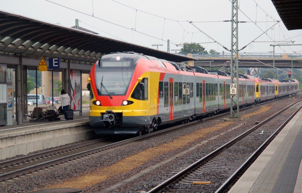 VIAS ET 305 als SE 25011 (Neuwied–Frankfurt [Main] Hbf) am 12.07 ...