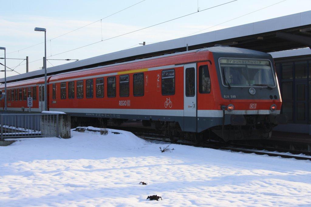 928 558 mit einer regionalbahn nach braunschweig in gifhorn. Black Bedroom Furniture Sets. Home Design Ideas