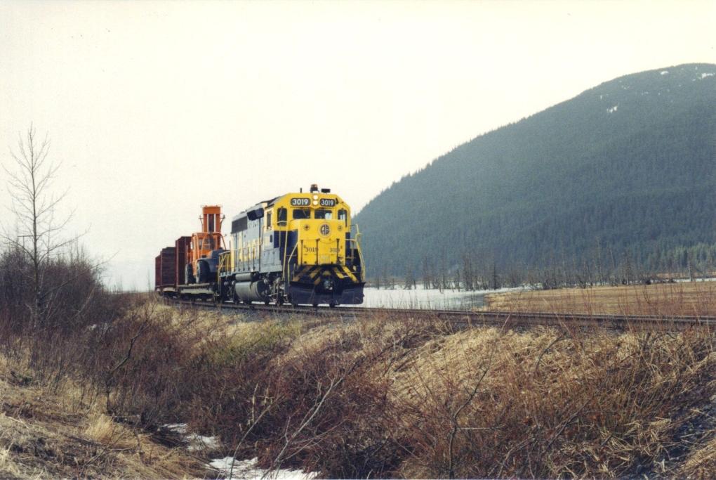 Alaska Railroad Ar Fotos Bahnbilder De
