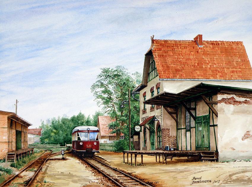 Bahnhof Goyatz am Schwielochsee (2012)