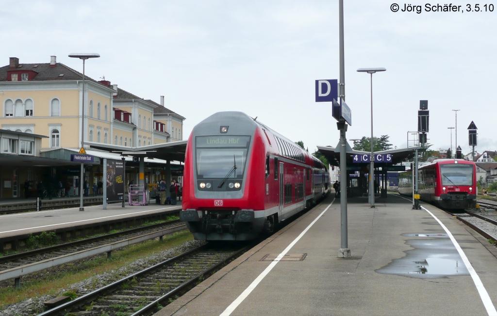 650 202 h lt am 9 als rb nach friedrichshafen im for Depot friedrichshafen