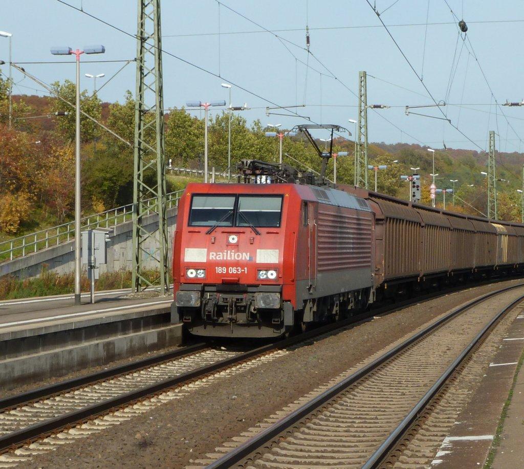 Die 10 Schönsten Luxusküchen Hersteller Deutschlands: Die 189 063 Durchfährt Bielefeld-Brackwede Am 29.10.2010