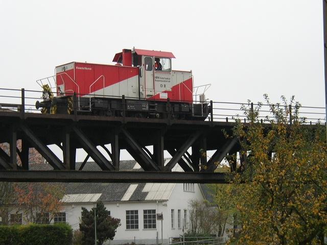 Die D8 Der Hafenbahn Frankfurt Am Main Bei Der Letzten