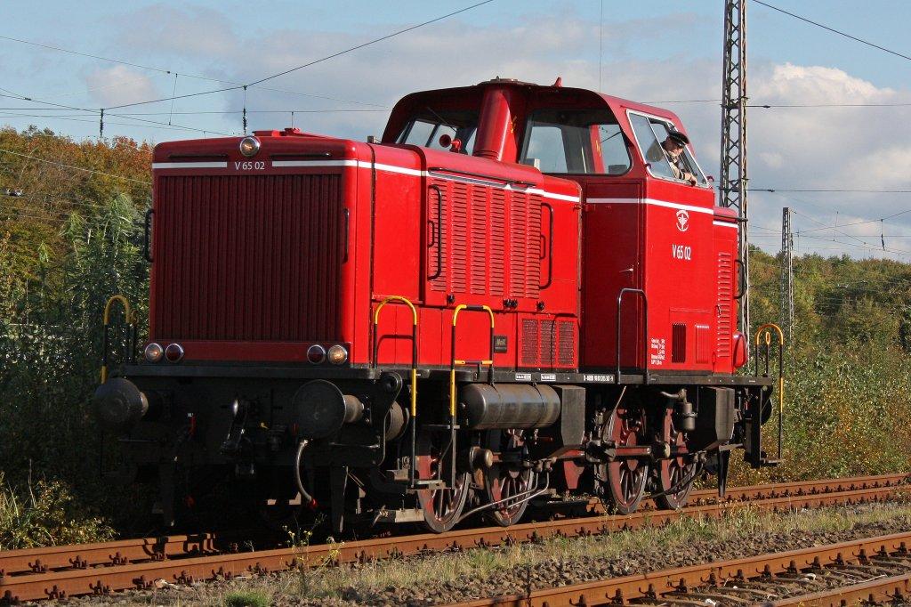 Die V65.02 der Museumseisenbahn Bremerhaven Bad Bederkesa ...