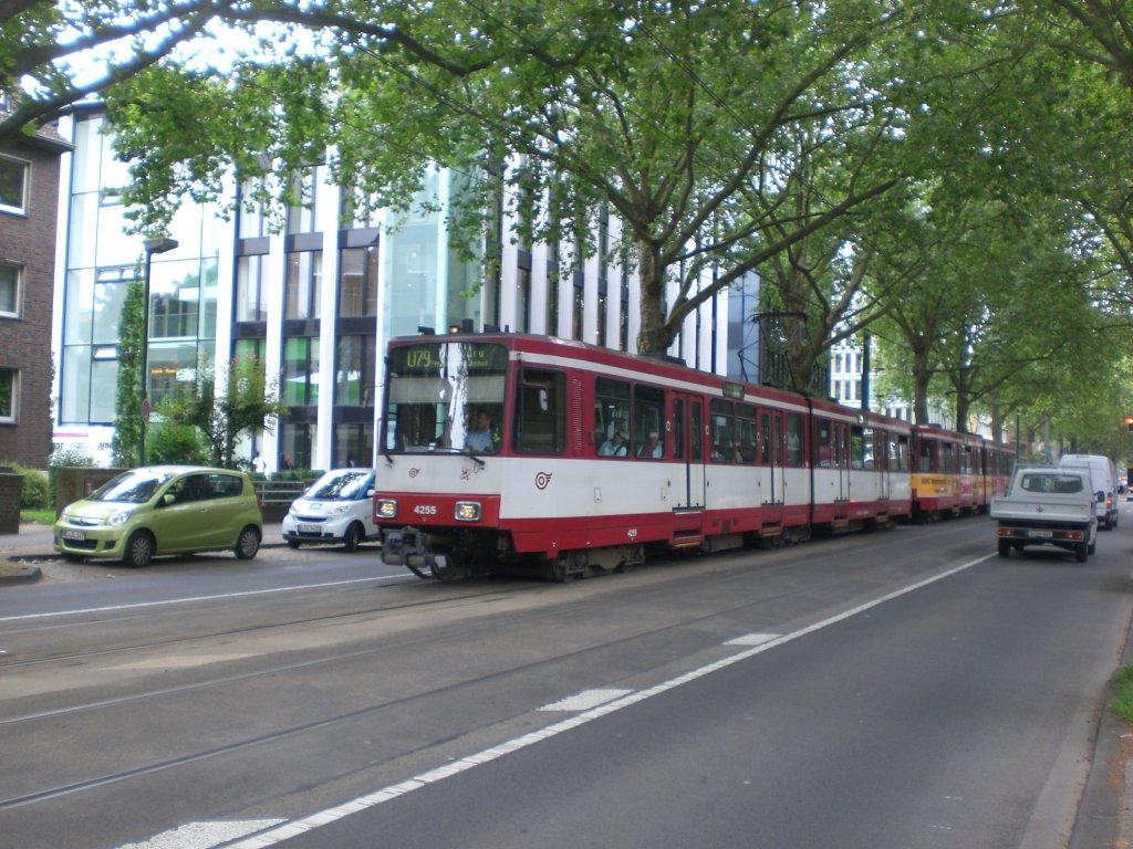 D Sseldorf Die U79 Nach U Bahnhof Duisburg Duissern An
