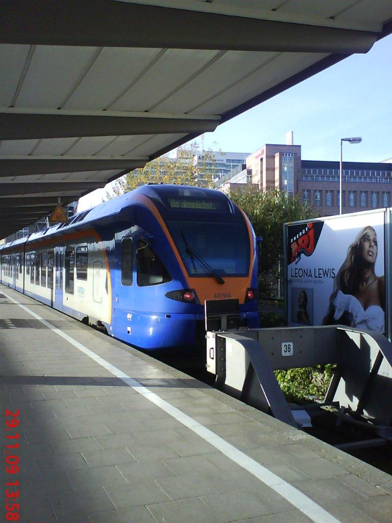 Ein verirrter Flirt der Cantus-Bahn (427-504) fernab seiner Heimat ...
