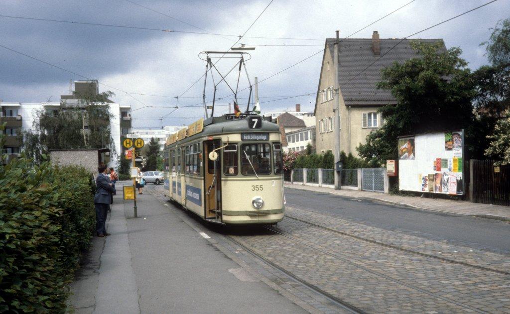 Unfall Fürther Straße Nürnberg