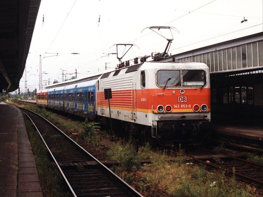Köln Oberhausen Bahn