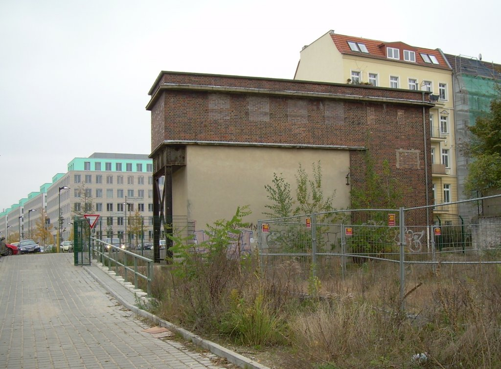 okt 2007 berlin nordbahnhof ehem stettiner bahnhof s bahn stellwerk noa architekt richard. Black Bedroom Furniture Sets. Home Design Ideas