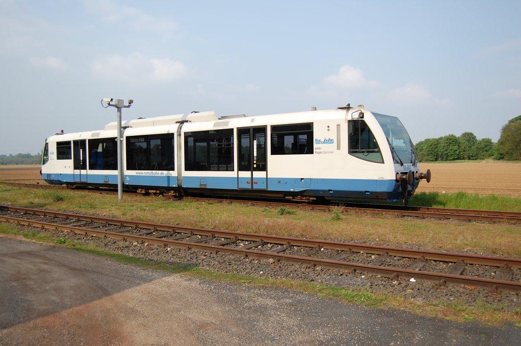 Rurtalbahn Regiosprinter 6.016.1 abgestellt in Linnich am