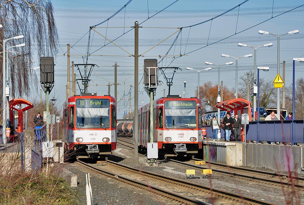 Kvb Linie 18 Köln-Bonn