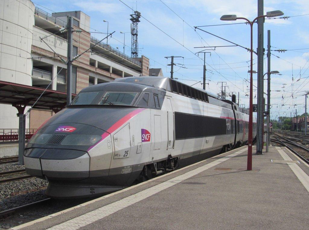 Trem de Colmar a Paris