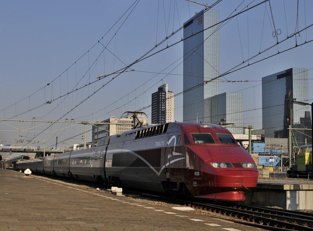 Horaires SNCF Paris Rotterdam m