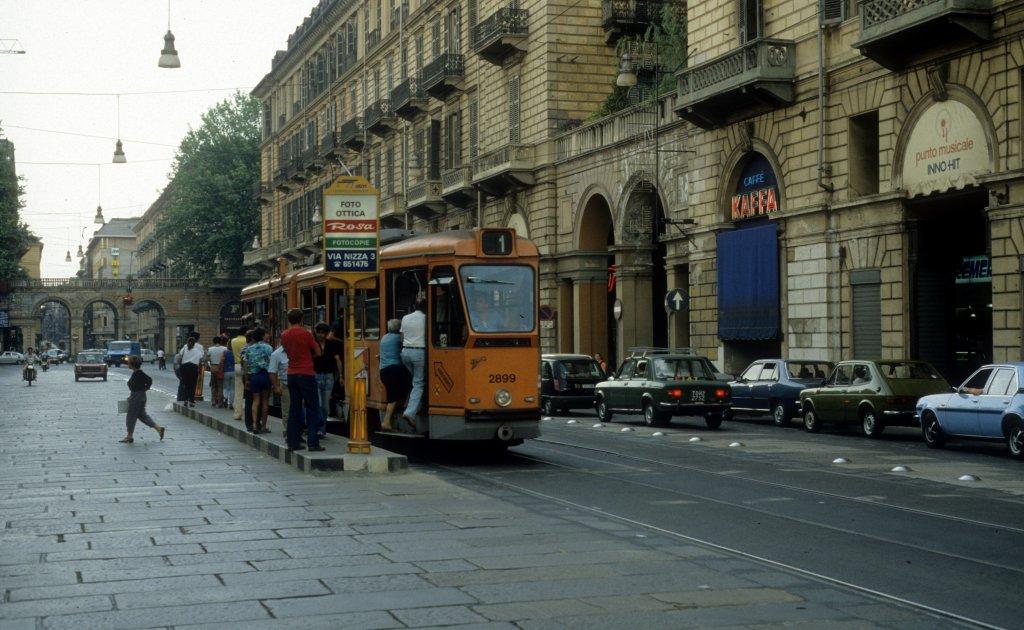 Torino turin atm sl 1 gtw 2899 via nizza stazione - Gtt torino porta nuova ...