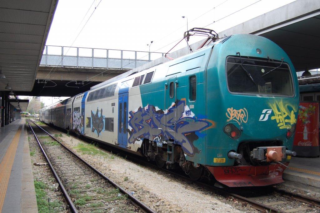 Treno 12 aus den fs baureihe ale 506 in milano porta - Treno milano porta garibaldi bergamo ...