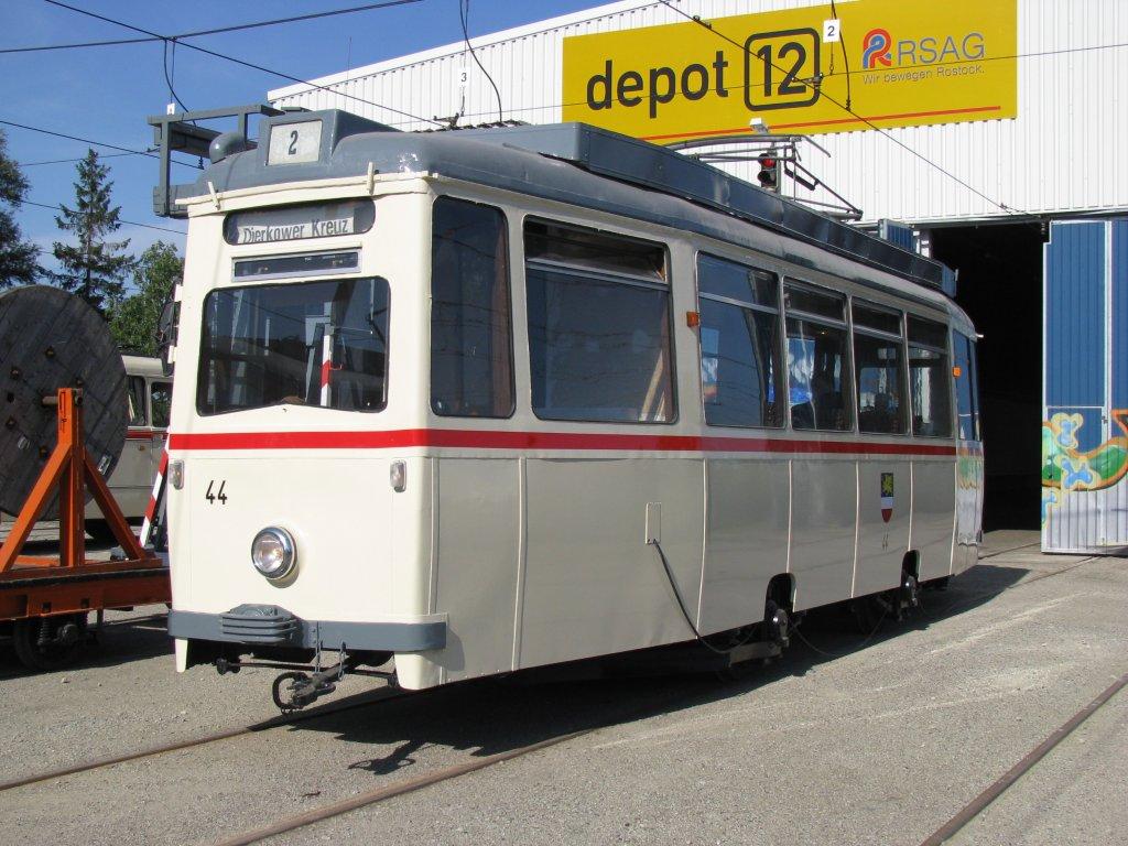 Triebwagen Nr 44 Lowa Wagen Aufgenommen Anl Lich Des