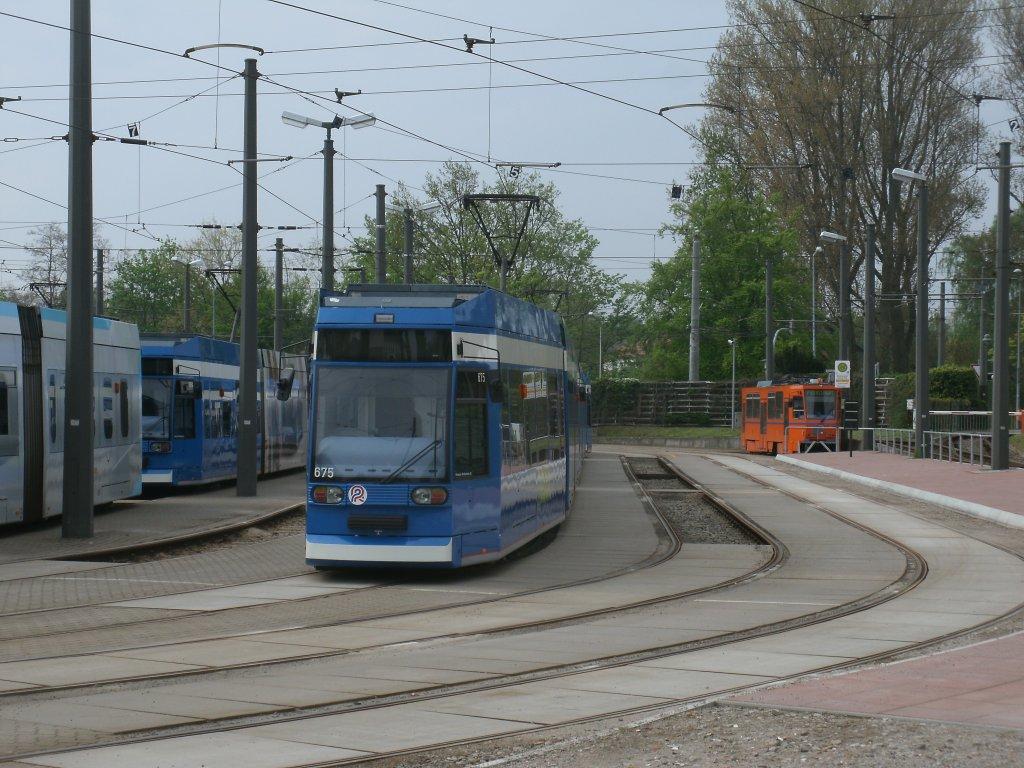 Tw 675 Und 551 Am 09 Mai 2013 Im Rostocker Depot Hamburger