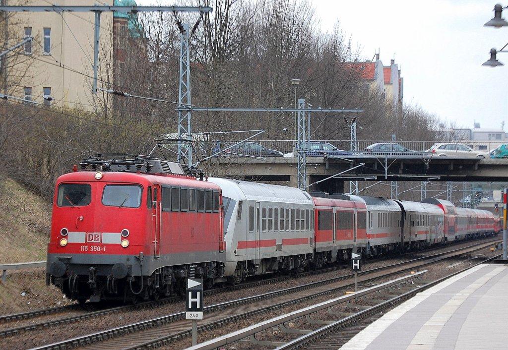 220 Beraus Interessante Pbz Fahrt Mit 115 350 1 Und Einer