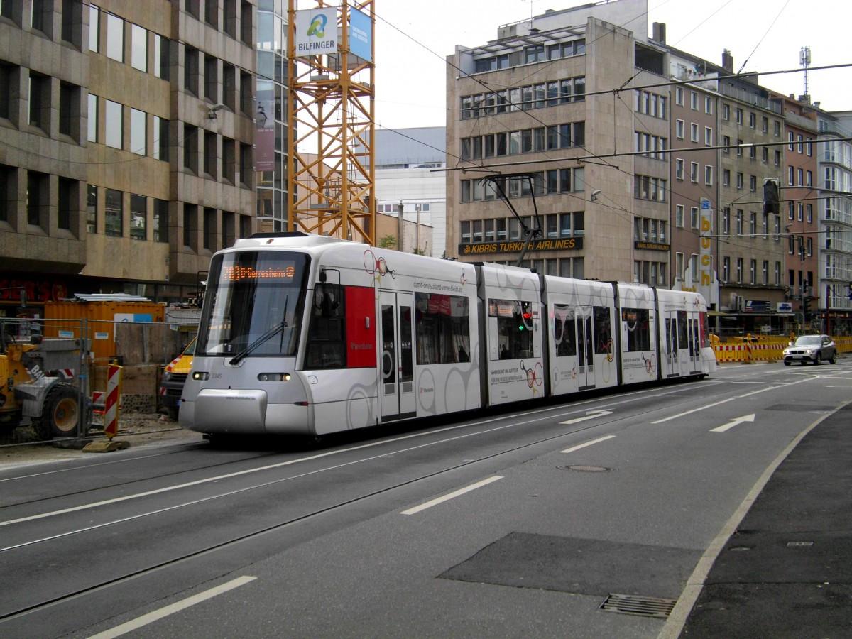 D Sseldorf Stra Enbahnlinie 703 Nach S Bahnhof D Sseldorf