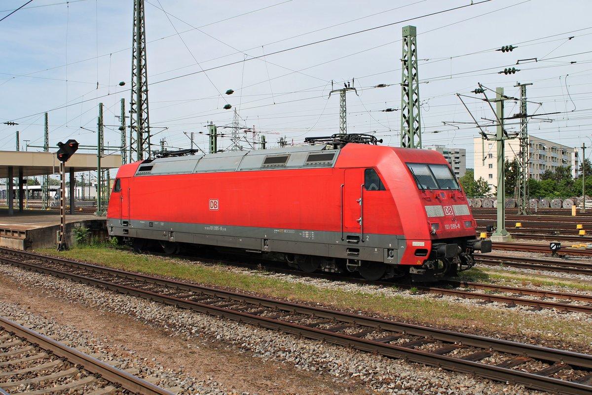 101 095 8 Am Abgestellt In Basel Bad Bf Und
