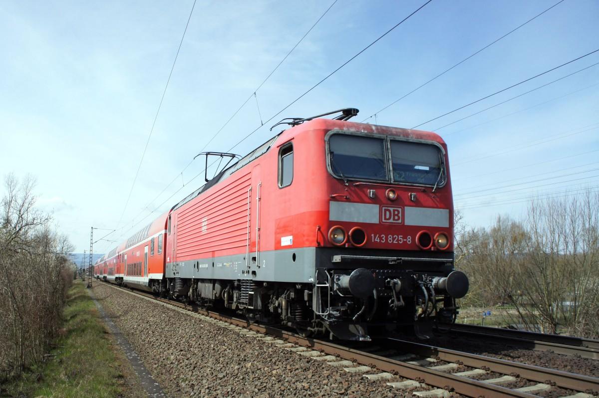 143 825 als re 4261 unterwegs von koblenz hbf nach frankfurt main hbf aufgenommen im april. Black Bedroom Furniture Sets. Home Design Ideas