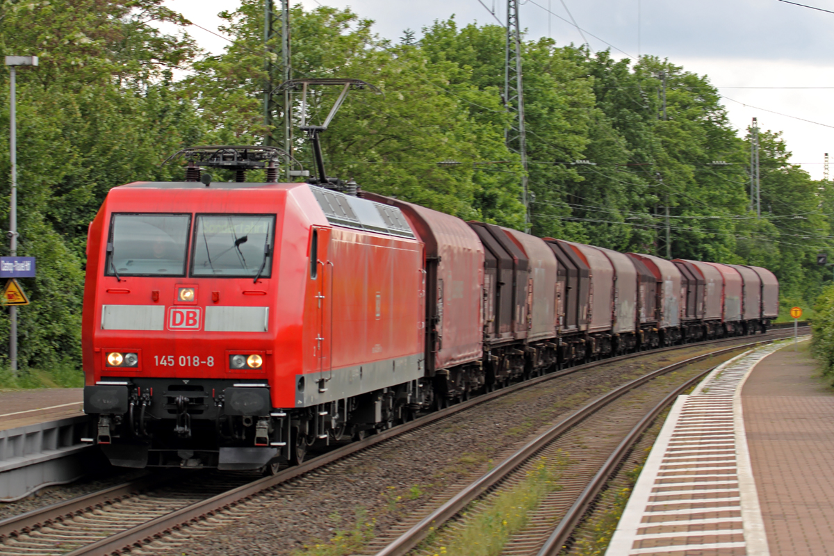 145 018-8 in Castrop-Rauxel 13.5.2014