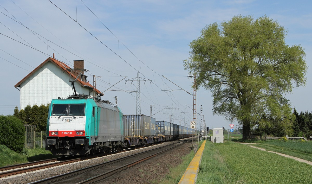 186 132 (Angel-Trains) am 17,04.14 in Herrath.