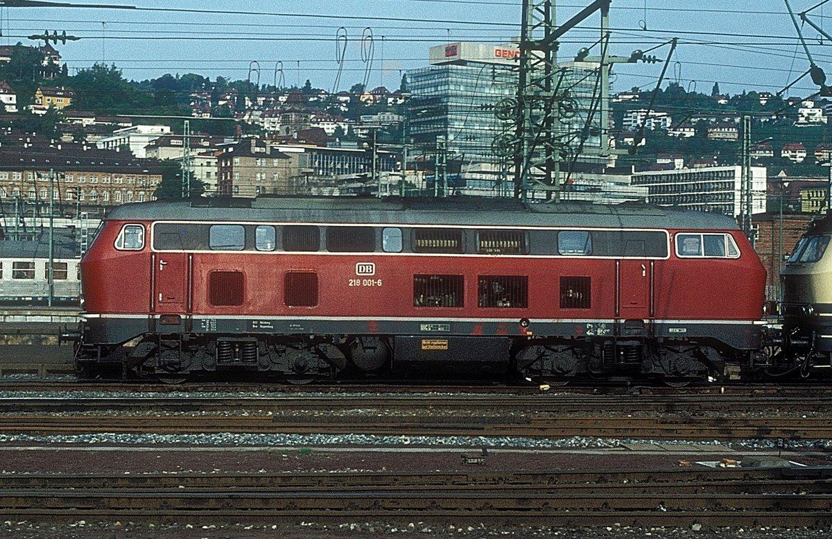 1 218 Baureihe 218 Lokportraits Fotos 11 Bahnbilder De