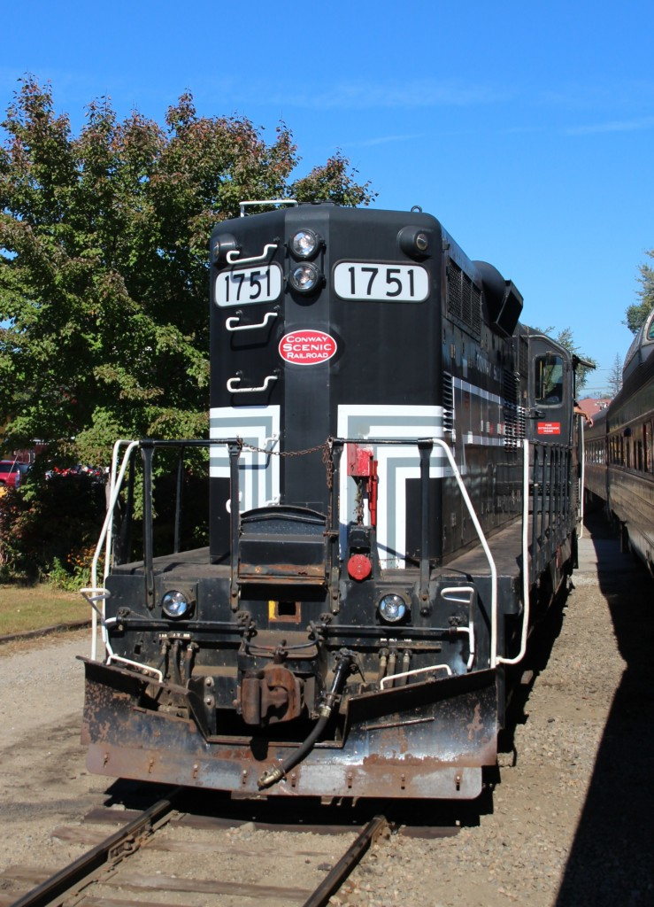 30.9.2013 North Conway, NH. 1751 der CSRX (GP 9)