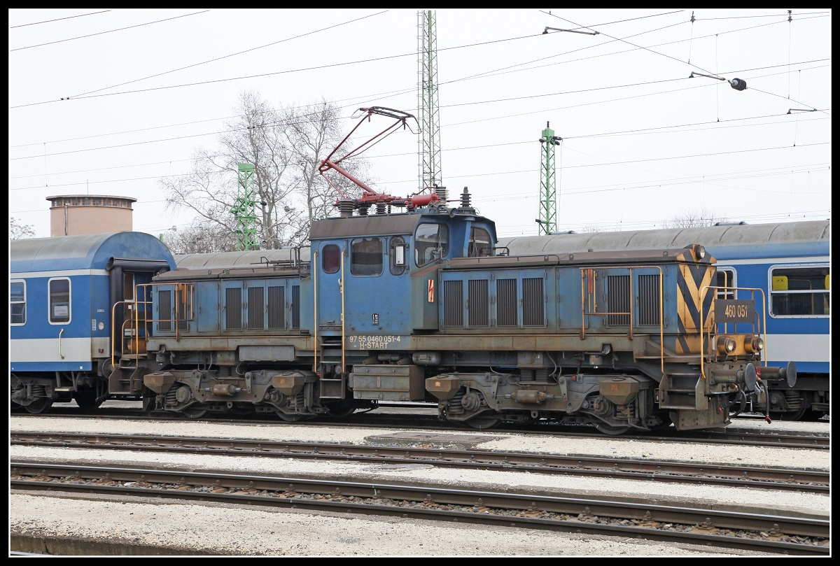 460 051 in Szombathely am 13.03.2019.