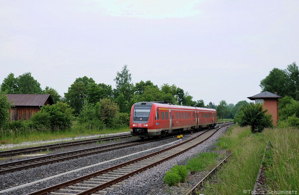 612 489 (95 80 0612 489-4 D-DB) als RE3512 am 09.06.2013 in Vilseck