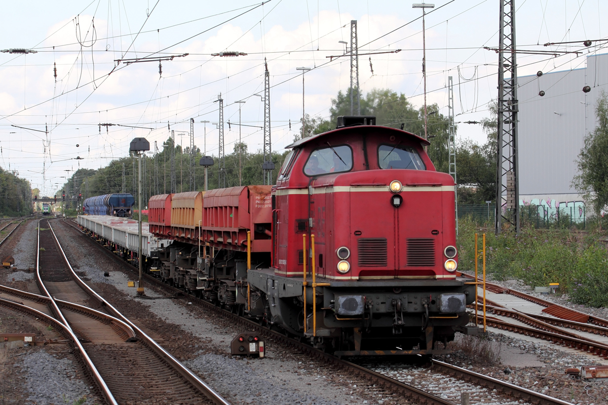 AIXrail 211 125-0 in Recklinghausen-Süd 2.9.2019