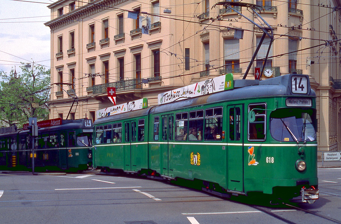 Basel 618 + 616, Bankverein, 13.05.1999.